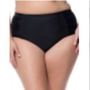 Jessica Simpson Highwaisted Bikini Bottoms (Plus)